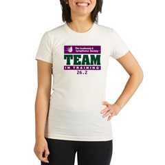 Team in Training - 26.2 Organic Women's Fitted T-Shirt