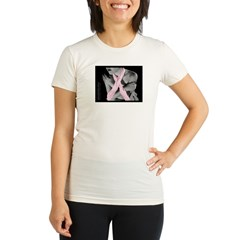 NUDE7.jpg Organic Women's Fitted T-Shirt
