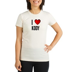 I LOVE KODY Organic Women's Fitted T-Shirt