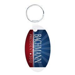 Bachmann - Ray of Hope Design Aluminum Oval Keychain