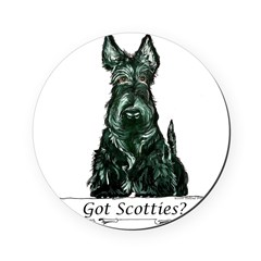 got scotties trans 10x10.png Round Coaster