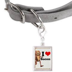 bacon copy.jpg Small Portrait Pet Tag