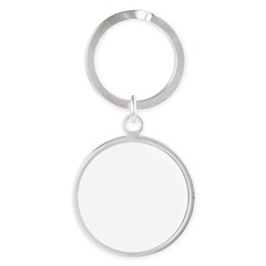Norway (Flag, International) Round Keychain