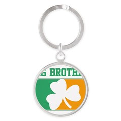 BIG BROTHER (Irish) Round Keychain
