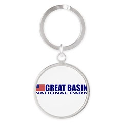 Great Basin National Park Round Keychain