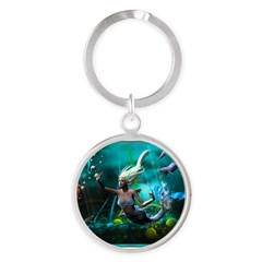 Best Seller Merrow Mermaid Round Keychain