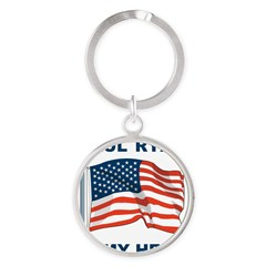 Paul Ryan is my Hero! Round Keychain