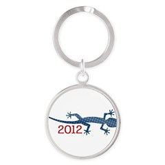 Newt 2012 Drawing Round Keychain