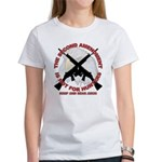 2A NOT for Hunters w/vigilant Eagle Women's T