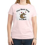 Best Mutt Dog Women's Light T-Shirt