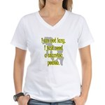 Lazy Stamina Potion Women's V-Neck T-Shirt