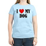 Love My Dog Women's Light T-Shirt