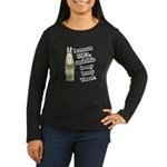 MBA Ivory Tower Women's Long Sleeve Brown T-Shirt