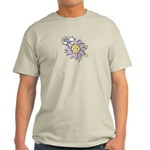 Happy Mother's Day Purple Flower Light T-Shirt