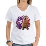 Lab Star Women's V-Neck T-Shirt