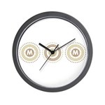 Cool Mod Mom Dots Mother's Day Wall Clock