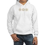 Cool Mod Mom Dots Mother's Day Hooded Sweatshirt