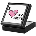 I Love Heart My Mom Mother's Day Keepsake Box