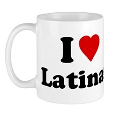 I Love [Heart] Latinas Mug