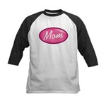 Pink Mom is my Idol Logo Kids Baseball Jersey