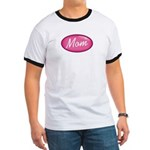 Pink Mom is my Idol Logo Ringer T