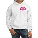 Pink Mom is my Idol Logo Hooded Sweatshirt