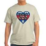 Heart Wonder Mom Mother's Light T-Shirt