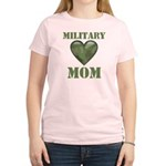 Military Mom Camouflage Camo Heart Women's Light T