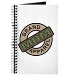 Mom Name Brand Apparel Logo Journal