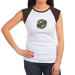Mom Name Brand Apparel Logo Women's Cap Sleeve T-S