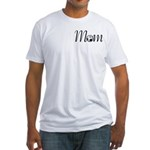 Pretty Soccer Mom Mother's Day Fitted T-Shirt