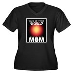 Out of this World Sci-Fi Mom Women's Plus Size V-N