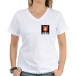Out of this World Sci-Fi Mom Women's V-Neck T-Shir