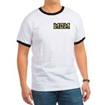Golden Mom Name Gold Letters Ringer T