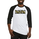 Golden Mom Name Gold Letters Baseball Jersey