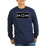 Dymo Black Label Me Mom Mother Long Sleeve Dark T-