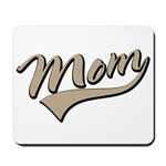 Baseball Swoosh Mom Mother's Mousepad