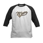 Baseball Swoosh Mom Mother's Kids Baseball Jersey