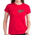 Baseball Swoosh Mom Mother's Women's Dark T-Shirt