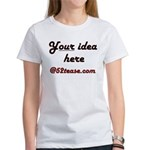 Personalized Customized Women's T-Shirt
