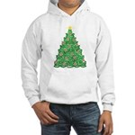 Celtic Christmas Tree Hooded Sweatshirt