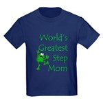 Greatest Stepmom Kids Dark T-Shirt
