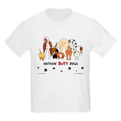 Dog Pack AKC Breeds Kids T-Shirt