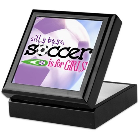 soccer pictures for girls. Silly Boys, Soccer Is For