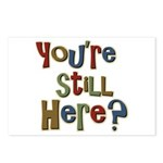 Funny You're Still Here Humorous Postcards (Packag