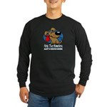 Homeless Pets Long Sleeve Dark T-Shirt