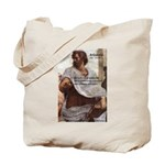 Ancient Greek Philosophy: Aristotle Tote Bag