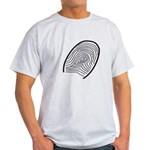 Subtle Thumb Print Light T-Shirt