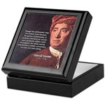 David Hume Philosophy Keepsake Box