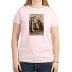 Julius Caesar Pictures Quotes Women's Pink T-Shirt